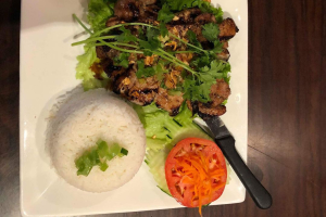 2C. Grilled Pork Chop Plate - delivery menu