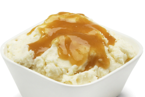 Mashed Potatoes with Gravy - delivery menu