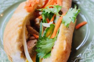 CARAMELIZED PORK CHOP- SANDWICH - delivery menu