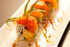 Salmon and Salmon Roll - delivery menu