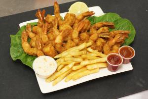 Jumbo Shrimp Dinner - delivery menu