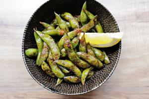 Spicy Edamame - delivery menu