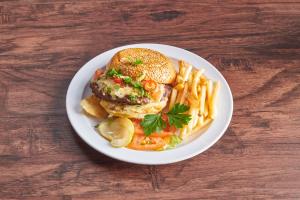 Spicy Nacho Burger - delivery menu