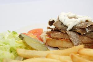 Gyro Turkey Burger - delivery menu