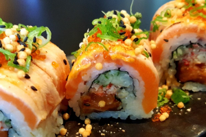Dancing Salmon Roll - delivery menu