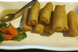 Vegetable Egg Rolls - delivery menu