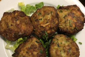 Zucchini Patties - delivery menu