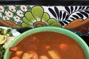 #55. Shrimp Soup / Caldo Camaron - delivery menu