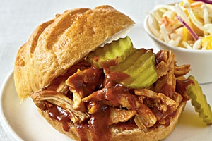 Pulled Chicken Sandwich Combo - delivery menu
