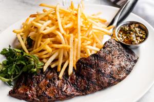 14oz Prime Brandt Beef Ribeye Frites - delivery menu