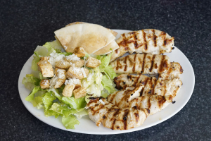 Char-Grilled Chicken with Two Sides - delivery menu