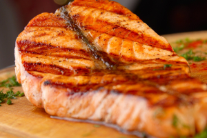 Grill Salmon - delivery menu