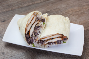 Mexican Chicken Wrap - delivery menu