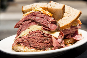 2. Pastrami, Tongue and Swiss Sandwich - delivery menu