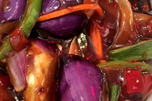 Eggplant in Garlic Sauce - delivery menu