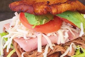 Pollo Patacon - delivery menu