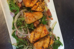 Salmon Shish Kabob - delivery menu