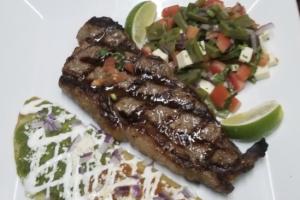 Bistec azteca - delivery menu