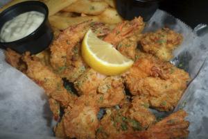Hand-Breaded Large Shrimp Basket - delivery menu