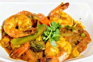 Shrimp Jalfrezel - delivery menu