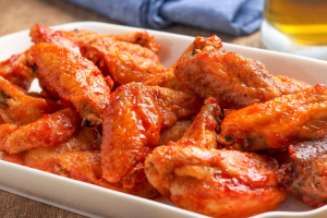 Hot Wings - delivery menu