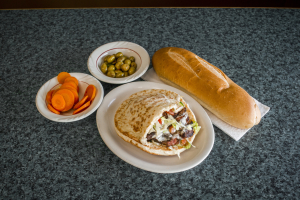 Shish Kabab Sandwich - delivery menu