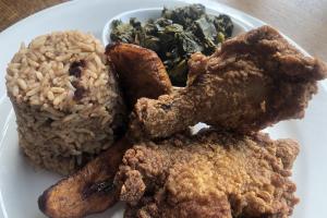 FRIED CHICKEN DINNER - delivery menu