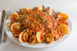 Clams Ala Marinara - delivery menu