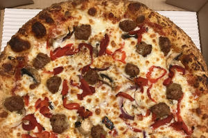 24. Spicy Sausage Pizza - delivery menu