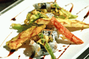 Vegetable Tempura Roll - delivery menu