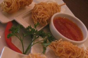 Golden Shrimp Cocoon - delivery menu