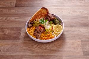 4. Lamb Kabob Platter - delivery menu