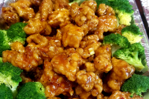 General Tso or Sesame Chicken - delivery menu