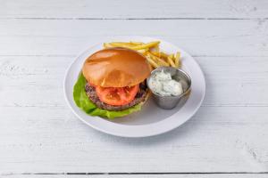 Char-Grilled Kobe Burger - delivery menu