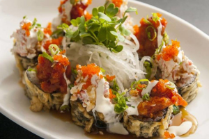 Ring of Fire Roll (A tempura roll) - delivery menu