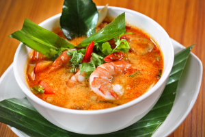 Lemongrass Tom Yum Soup - delivery menu