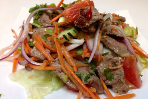 Grilled Beef Salad - delivery menu