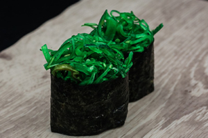 2 pieces Wakame Gunkan - delivery menu