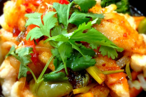 Thai Chili Fish - delivery menu