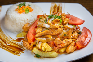 Pollo Saltado - delivery menu