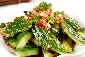 A6. Chilled Pickled Cucumber with Garlic - delivery menu