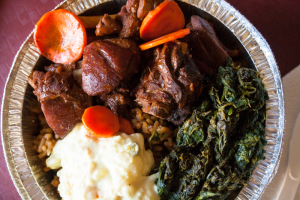 Stew Oxtails Dinner - delivery menu