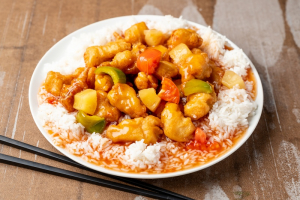 Sweet and Sour Chicken - delivery menu