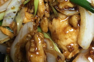 D15. Mongolian Chicken Dinner - delivery menu