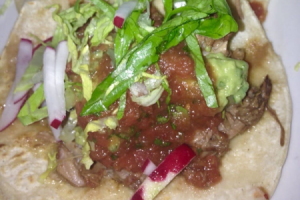 Stewed Pork Tacos - delivery menu