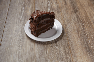Home Made Chocolate Cake Slice - delivery menu