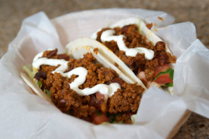Ground Beef Taco - delivery menu