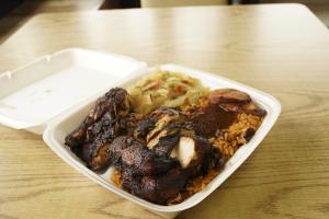 Jerk Chicken Wrap - delivery menu