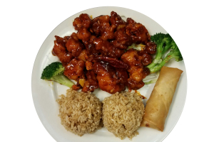 Orange Chicken Lunch - delivery menu