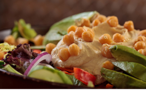 Hummus Salad - delivery menu